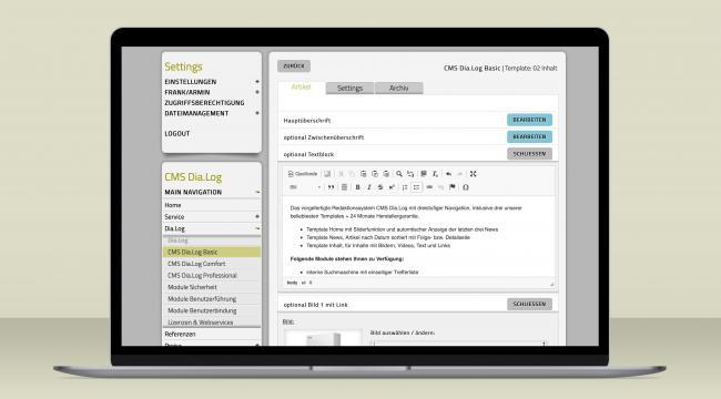 Schreiben und formatieren