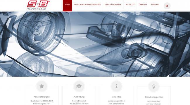 Startseite SB-Technologie